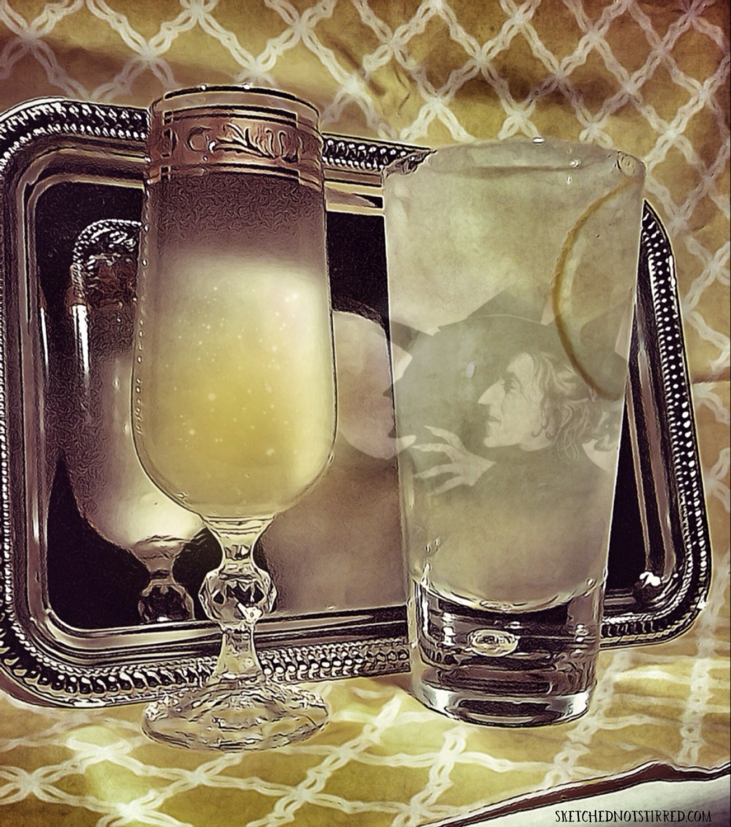 Conjure spirits with a French 75.